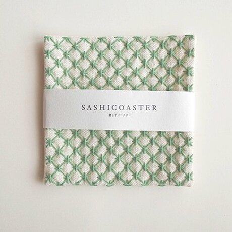 SASHICOASTER(刺し子 コースター)21の画像