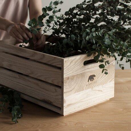 栗の木ボックス(深)の画像