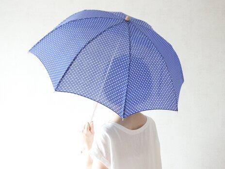 折りたたみ日傘 ろうけつ染めの画像