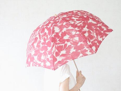 折りたたみ日傘 落書きの画像