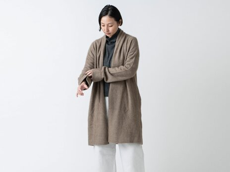 enrica knit 050 / naturalの画像