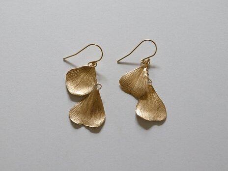 Foetidas pierced earring K18GDplateの画像