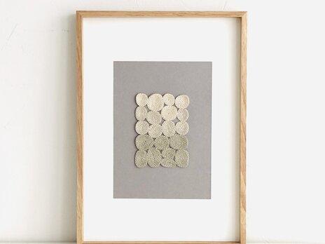 embroidery art 刺繍のフレーム sunaの画像