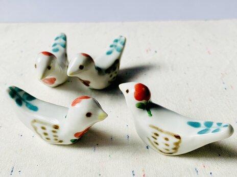 小鳥 箸置きの画像