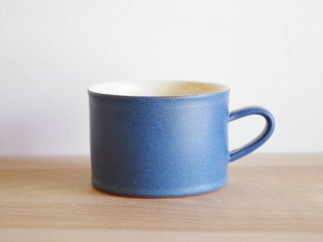 スープマグ・マット・青の画像
