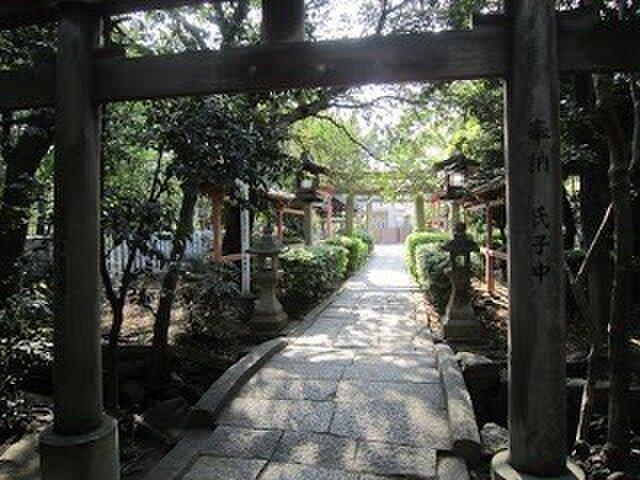 土生神社 鎮守の森 器展