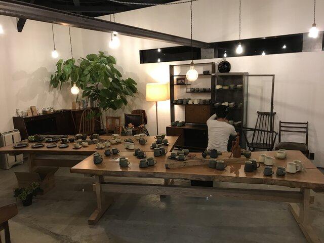 作り手の集い 中西忠博器展