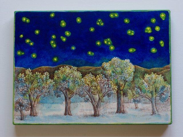 「木々と星々」むらせゆか 個展