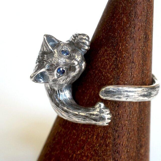 猫リング ジュリエッタ(クリクリ瞳バージョン)の画像1枚目