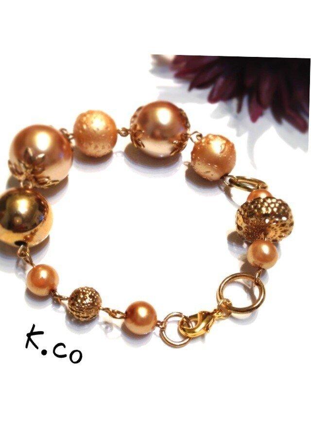 bracelet GOLD aの画像1枚目