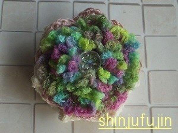【Sold】お花畑のコサージュ19の画像1枚目