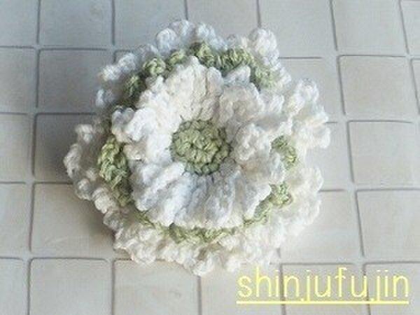 【Sold】お花畑のコサージュ21の画像1枚目
