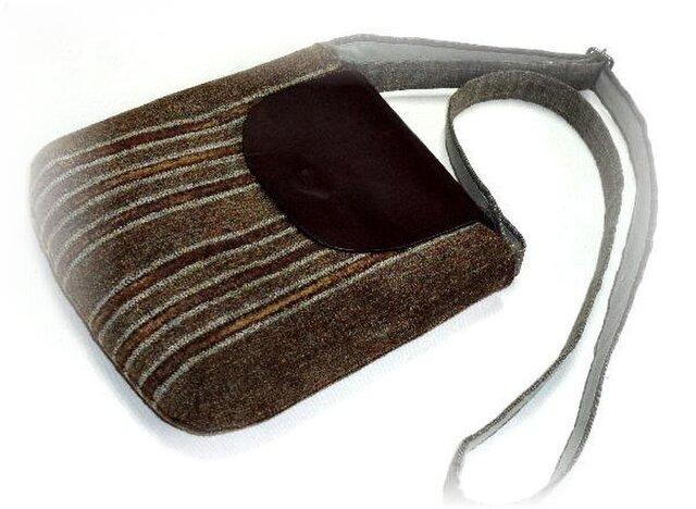 手織りショルダーバッグS型 B-010の画像1枚目