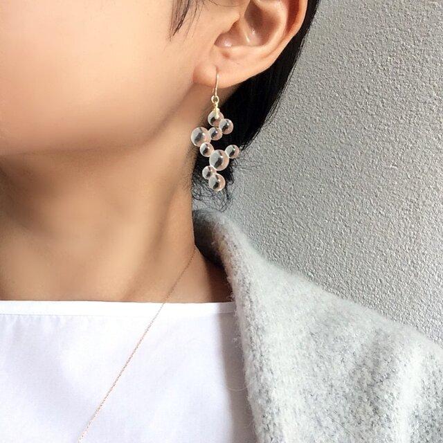 ◯⚪︎⚪︎⚪︎pierce/earring 【ガラスピアス】【ガラスイヤリング】の画像1枚目