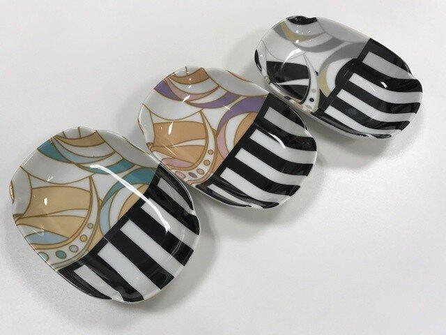 ポーセラーツ マーブル小皿の画像1枚目