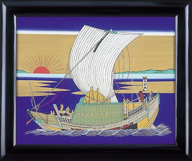北前船絵馬の画像1枚目