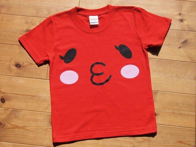 とまチュウ Tシャツ 幼児用 山梨県中央市のご当地キャラクターの画像1枚目