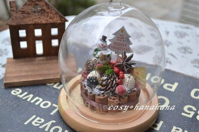 【季節の】たっぷりベリーのケーキ*クリスマスの画像1枚目