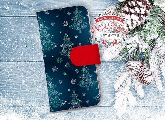 【全機種対応】送料無料☆【手帳型】クリスマス限定スマホケース No.2の画像1枚目