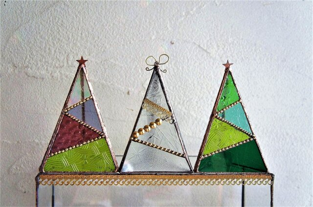 Christmas*tree*LEDキャンドルホルダー♢*の画像1枚目