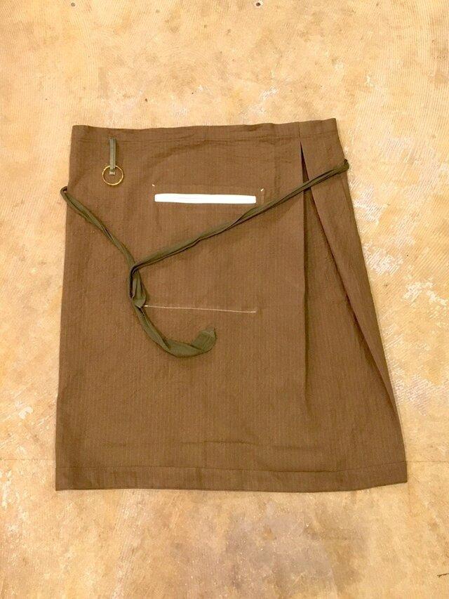 tablier タブリエ / apron エプロン    ■tf-173の画像1枚目