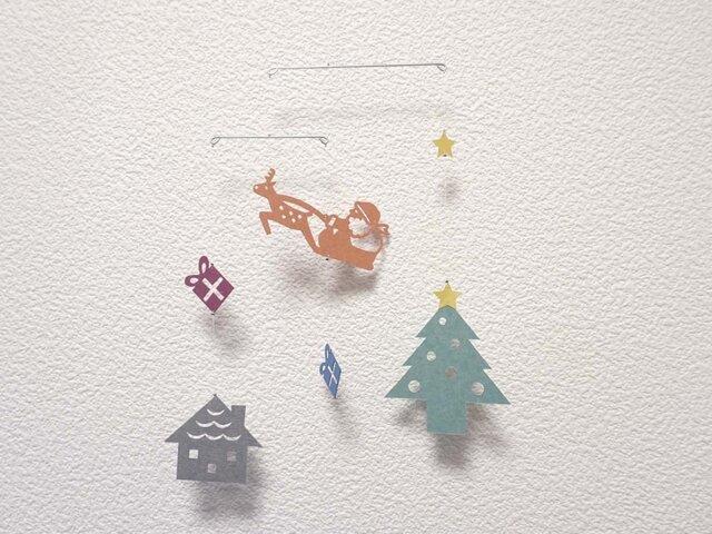 miniモビール「クリスマスA」その3の画像1枚目