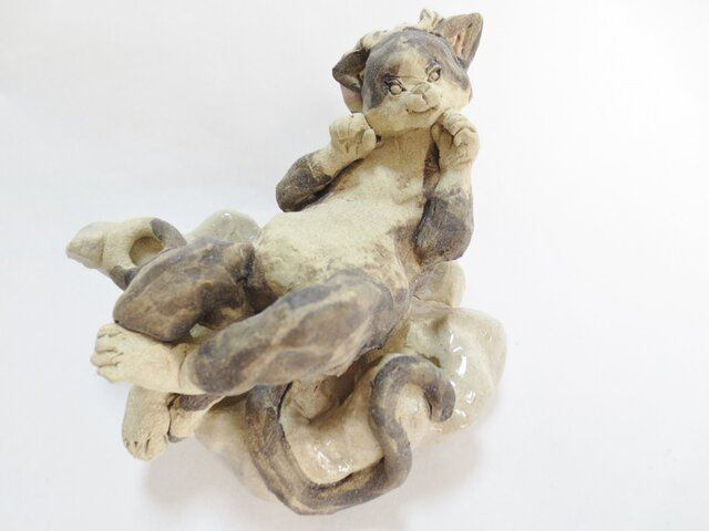 妖怪 -ハチワレ猫又-の画像1枚目