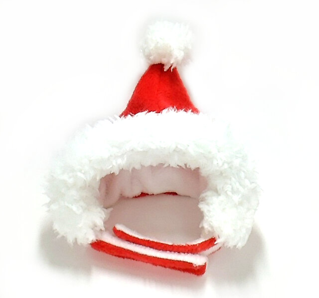サンタさんの帽子(赤)【S/M/L】の画像1枚目