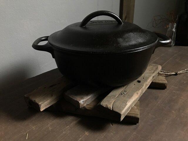 Pot Stand -gray medi-の画像1枚目