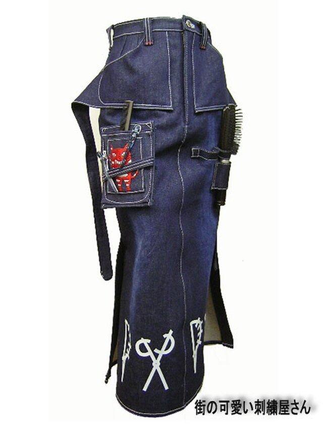 ★★手作り/オーダーメイドスカート/美容師のワークスカート★★の画像1枚目