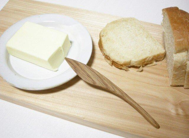 木のバターナイフの画像1枚目