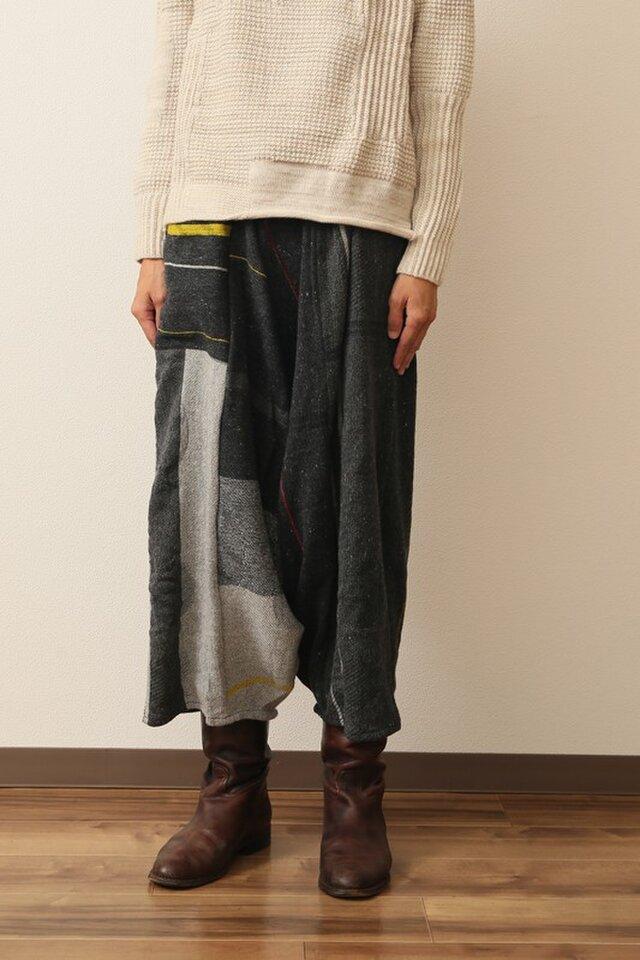 tarun pants LONG wool70の画像1枚目