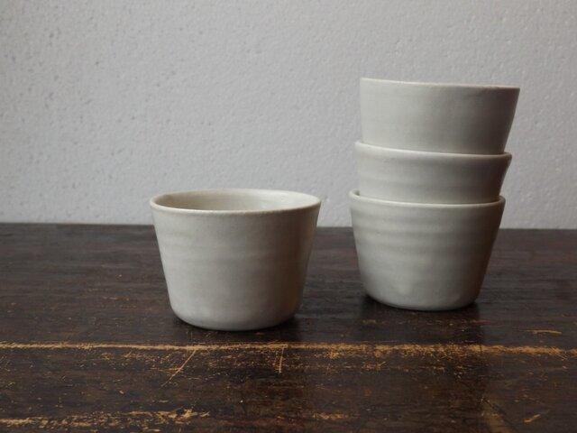 シンプルカップ(白)の画像1枚目