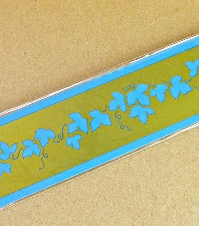 オランダ真鍮製ステンシルプレート アイビー DA-SP006の画像1枚目
