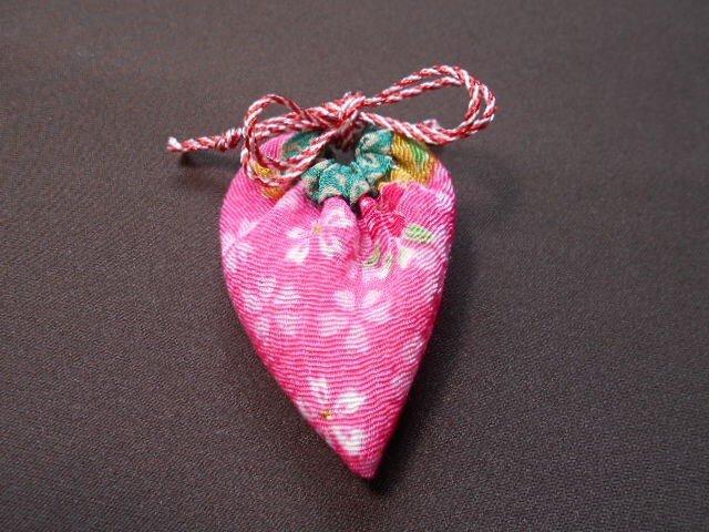 いちご袋*ピンク桜の画像1枚目