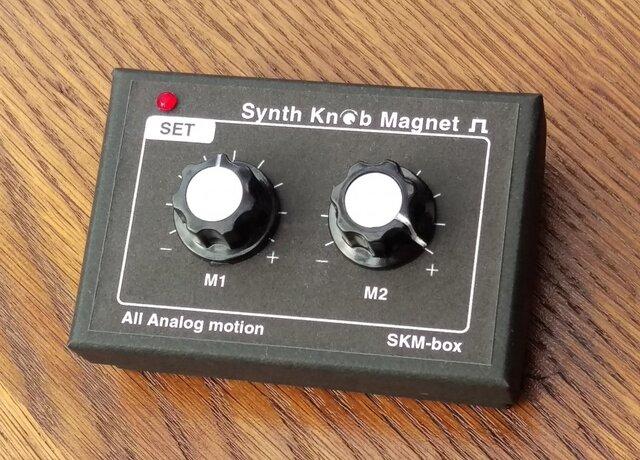 【ケース&マグネット】SKM-box Synth Knob Magnetの画像1枚目