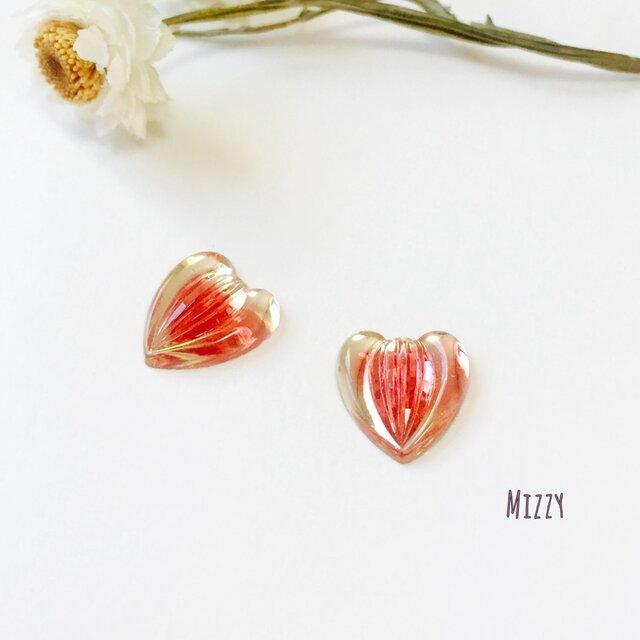 Vintage hearts REDの画像1枚目