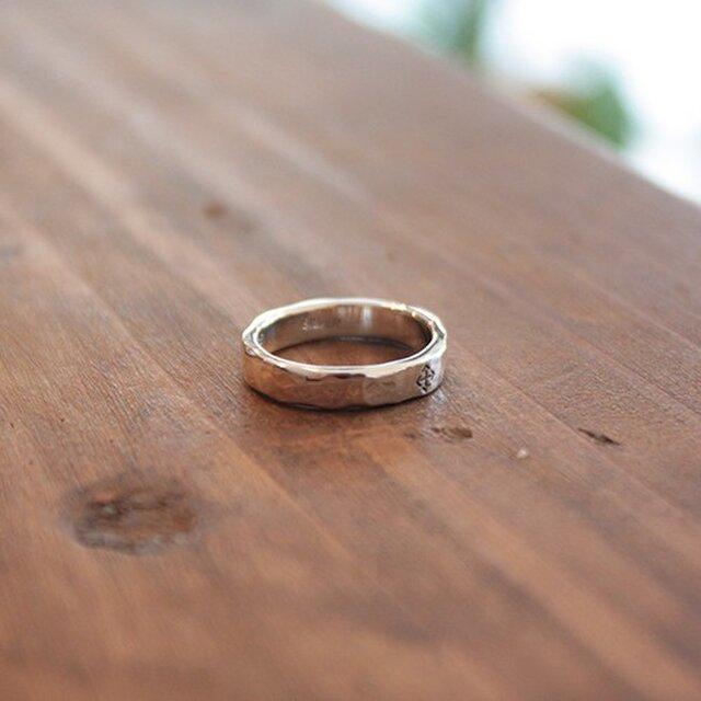 針突(ハジチ)指輪タカゼン(高善) rr-69の画像1枚目
