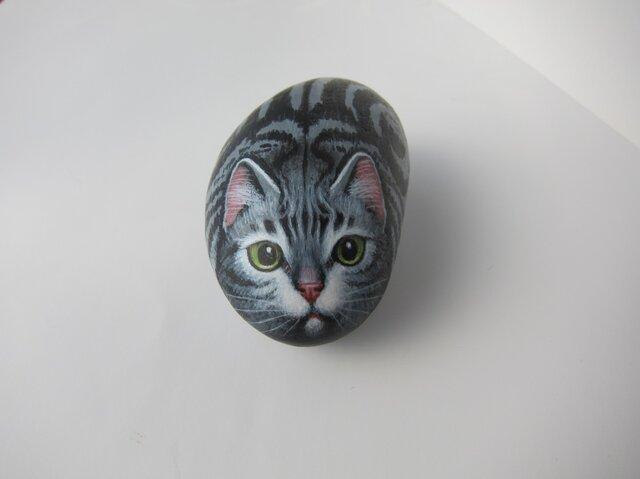 アメショーの石猫の画像1枚目