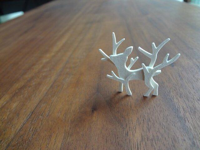kami kami brooch 子鹿の画像1枚目