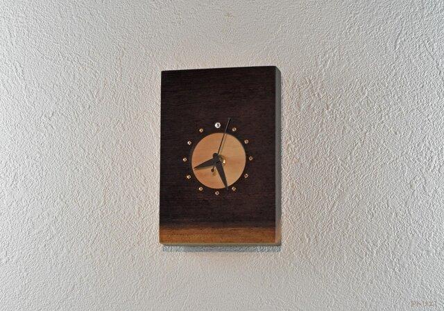 【受注制作】満月を楽しむプチ時計【クオーツ時計】の画像1枚目