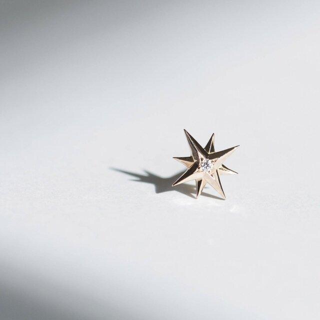 Sirius -Pierce-◇K18PG×Diamond 0.007ctの画像1枚目
