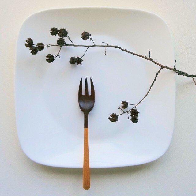 #109 山桜の木のパスタフォークの画像1枚目