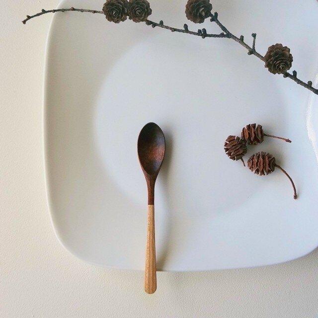 M様リクエスト分 #110 山桜の木のデザートスプーンの画像1枚目