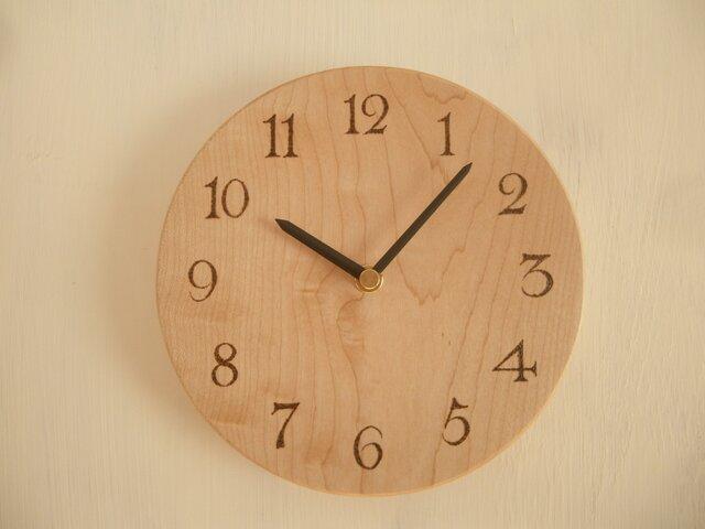 楓の木の時計Mの画像1枚目
