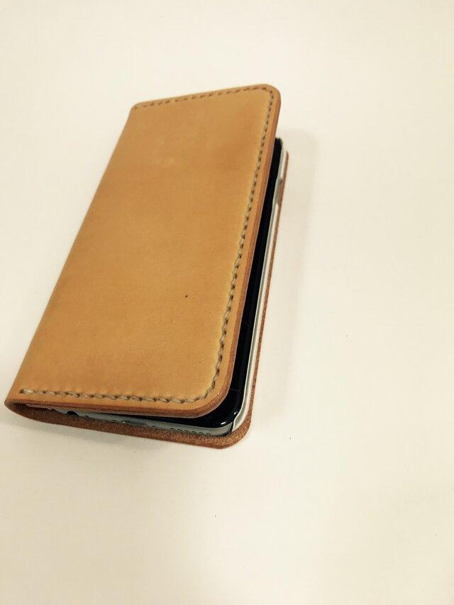 革のiphone 4.7インチ用ケース ち sweet(刻印無料)の画像1枚目
