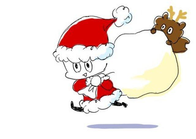 クリスマスポストカードの画像1枚目