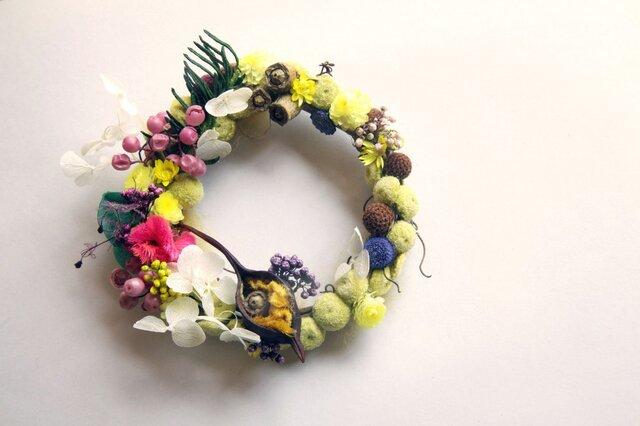 wreath-bee pollen 5の画像1枚目