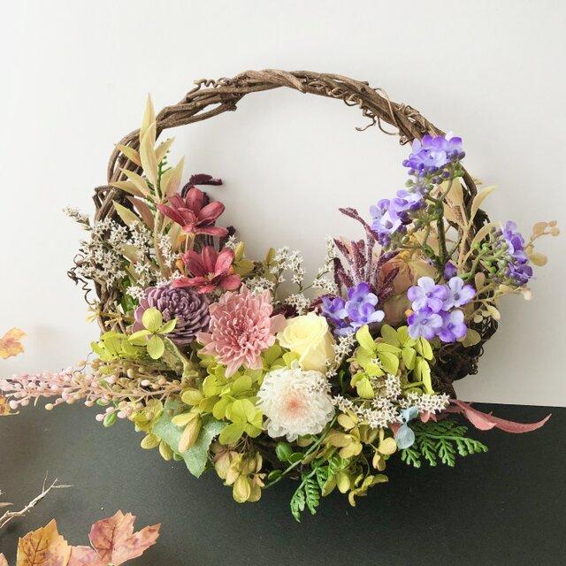 Basket wreathの画像1枚目