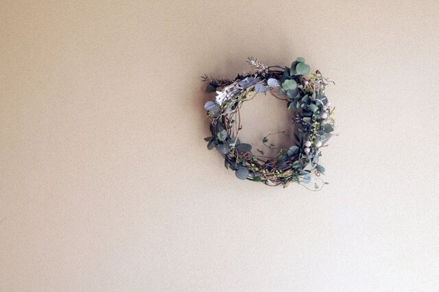 little leafy wreath 1の画像1枚目
